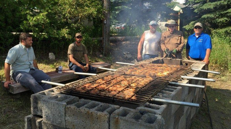 Old Mission Peninsula United Methodist Church Annual Chicken BBQ | Jane Boursaw Photo