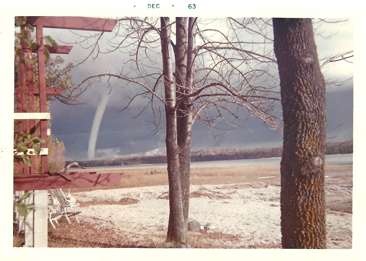 Cherry Point Farm And Market Jane S World Water Spout Over East Bay In 1963 Old