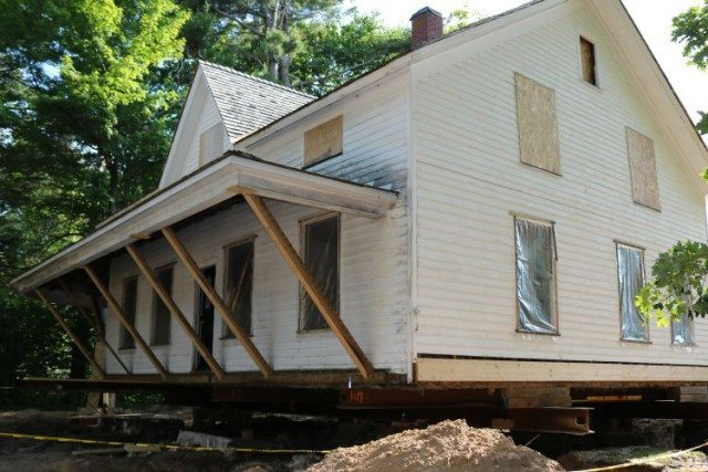 Old Mission Dougherty House Gets a New Foundation