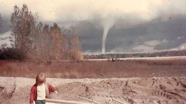 water spout, east bay, jane boursaw, old mission peninsula, old mission, old mission michigan, pure michigan, old mission gazette, winter, peninsula township