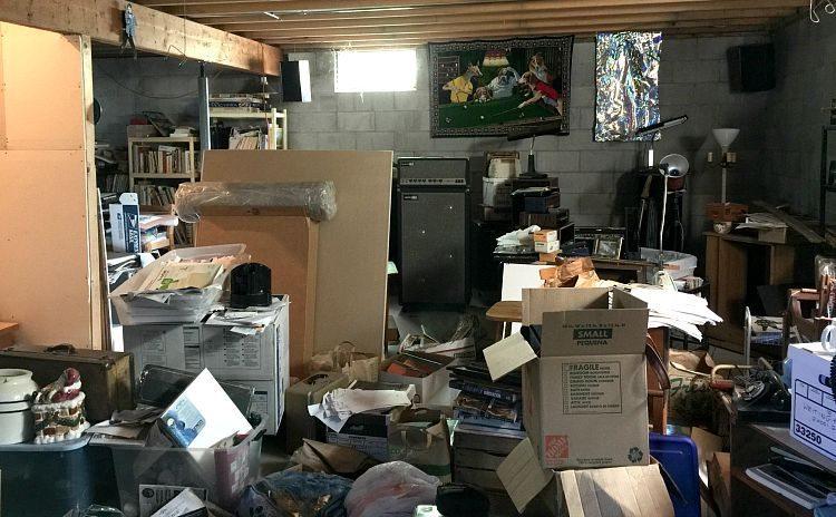 Jane's Messy Basement | Jane Boursaw Photo