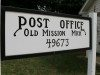 old mission post office, old mission peninsula, old mission, old mission michigan, old mission gazette, peninsula township