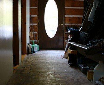 Plywood Floor | Jane Boursaw Photo