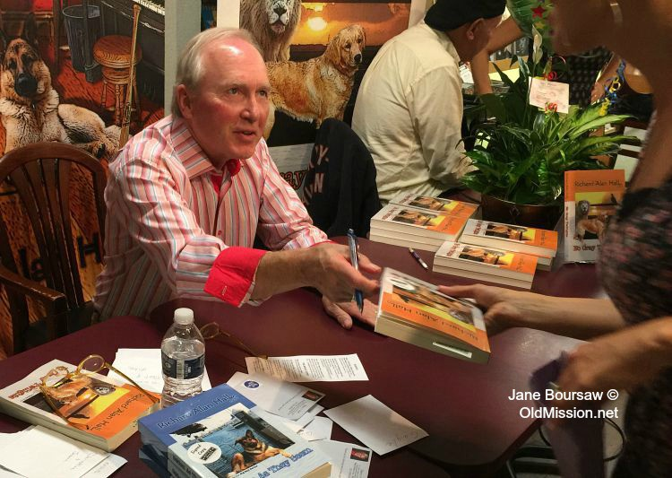 "Author Richard Hall at the ""No Gray Twilights"" Book Launch at Horizon Books | Jane Boursaw Photo"