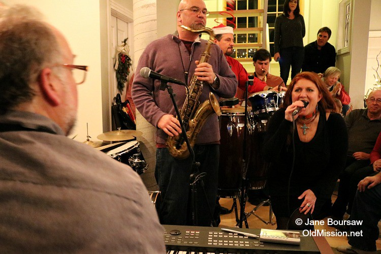 Jankowski House Party 2015: Elizabeth Sexton Rivers on Vocals | Jane Boursaw Photo