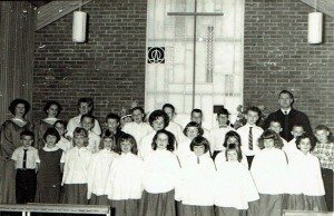 Ogensburg United Methodist Church Junior Choir 1960s