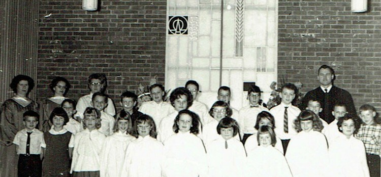#TBT Throwback Thursday: Ogdensburg UMC Junior Choir Circa 1962