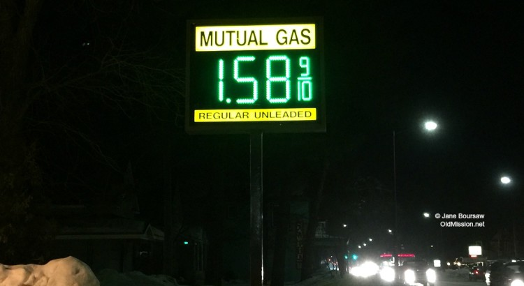 Photo of the Day: Feb. 4, 2016 – Gas Prices at Mutual