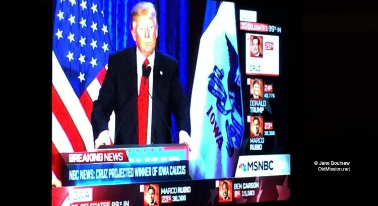 Photo of the Day: Feb. 3, 2016 – Donald Trump on My TV