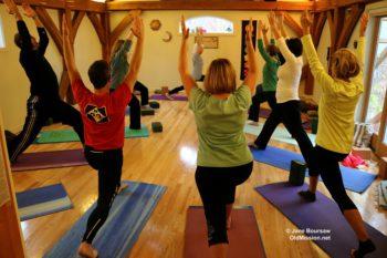 yoga, neahtawanta inn, sally van vleck
