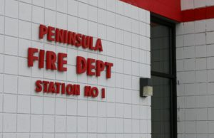Township Board, Fire Board, Peninsula Township Fire Department