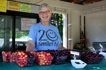 wendy warren, between the bays, warren orchards, old mission peninsula farmstands