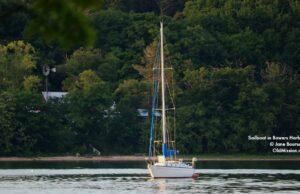 sailboat, bowers harbor, neahtawanta