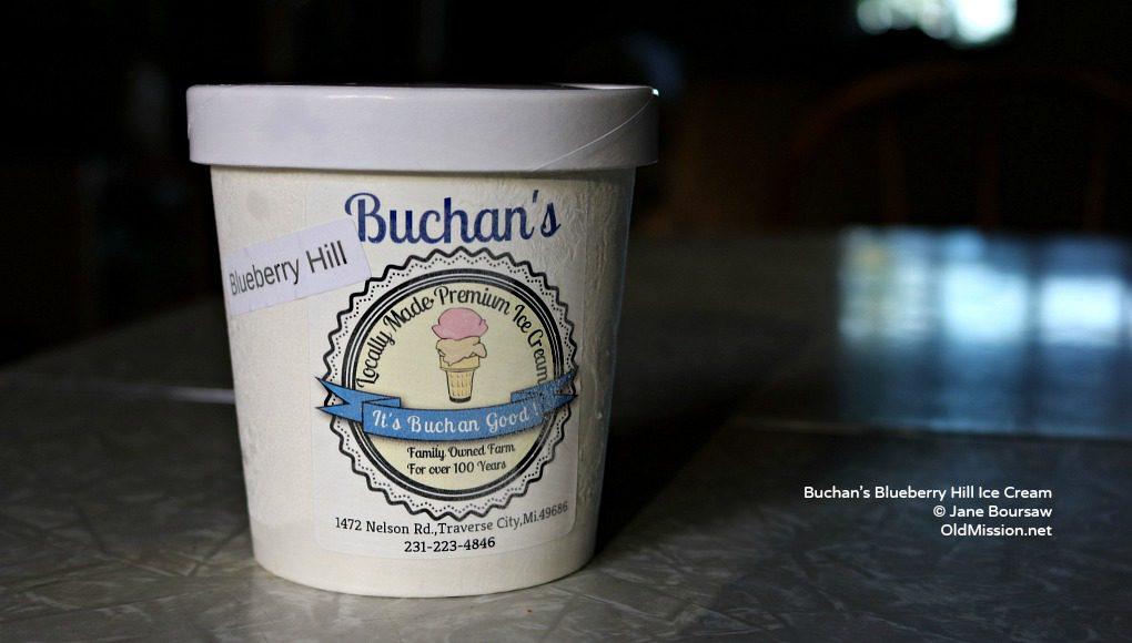 Buchan's Blueberry Hill, ice cream