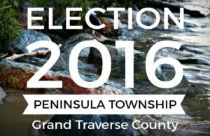 election, peninsula township, grand traverse county