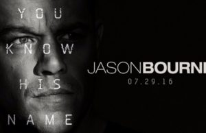 Jason Bourne, New Movies