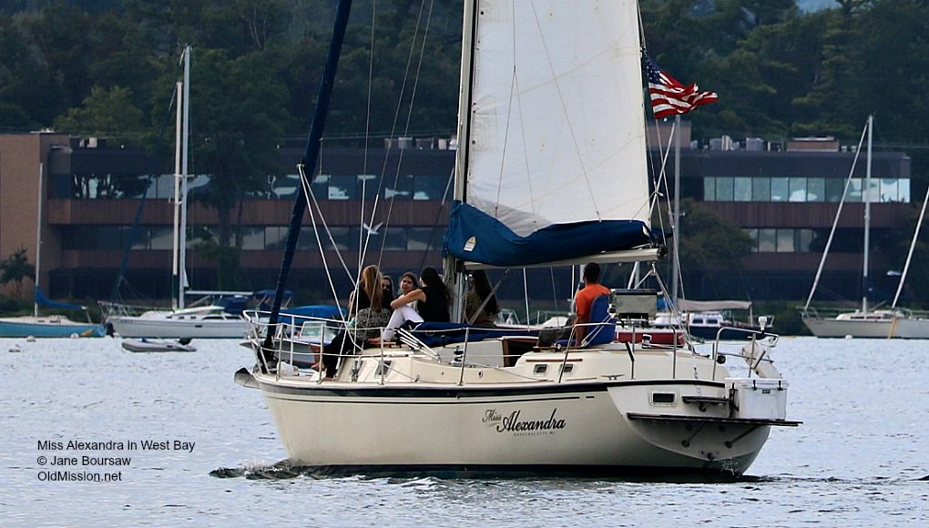 miss alexandra, sailboats, jake anderson, west bay
