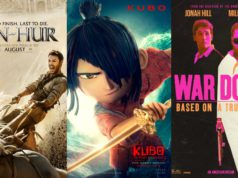 ben-hur, new movies, kubo, war dogs