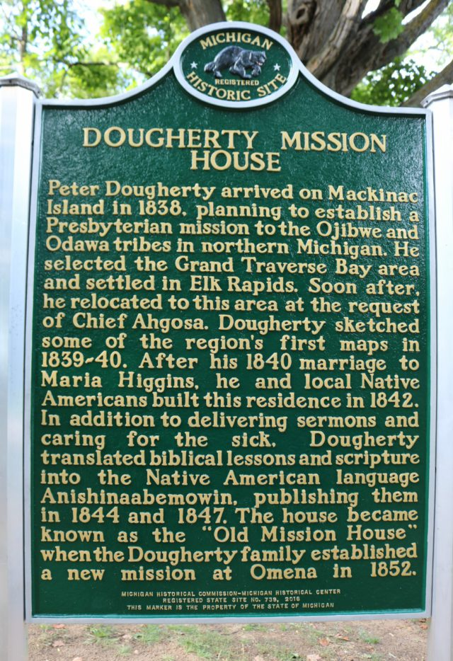 Peter Dougherty Home Historical Marker