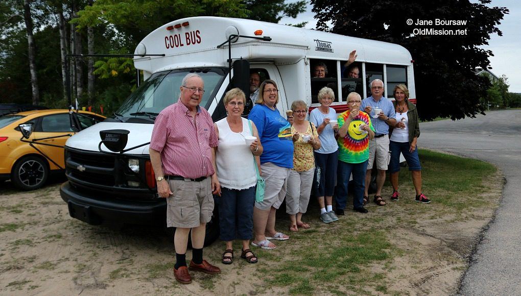 OMPUMC, Buchan's Blueberry Hill, Cool Bus