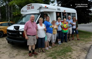 OMPUMC, Buchan's Blueberry Hill, Cool Bus