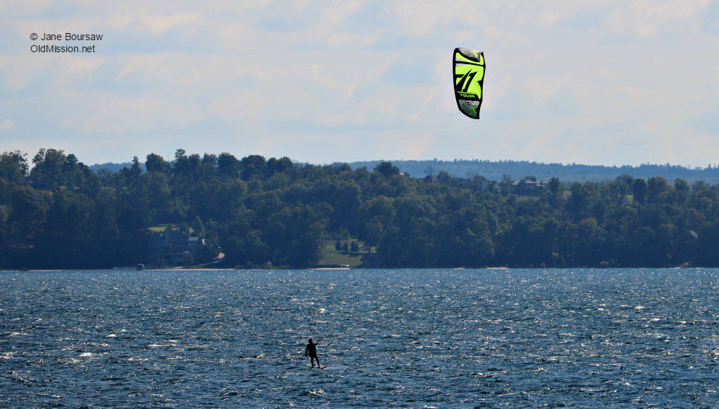 windsurfers, east bay, the bluffs