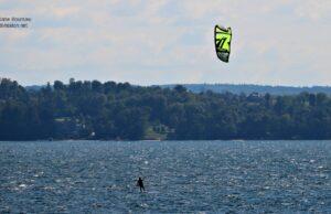 windsurfers, east bay, the bluffs