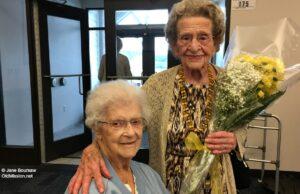 mary johnson, helen devol, omwc, old mission women's club