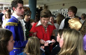 beauty and the beast, central high school