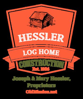 hessler log home logo, online store