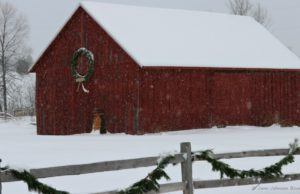 louis kauer, barns, old mission peninsula, happy holidays, christmas