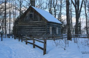 hessler log home, omphs, historical society