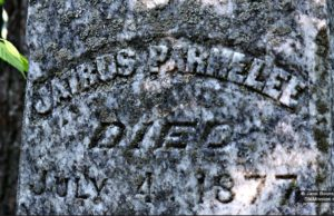 parmelee, indian cemetery