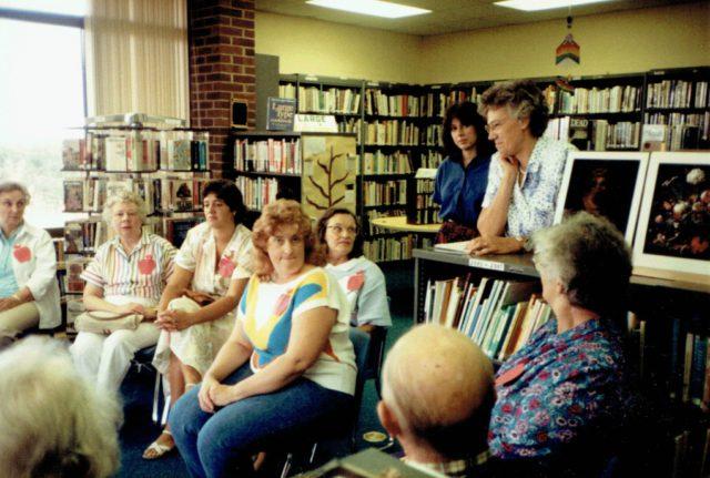 wanda crampton, peninsula community library