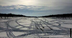 weatherholt's farm, snowmobile,