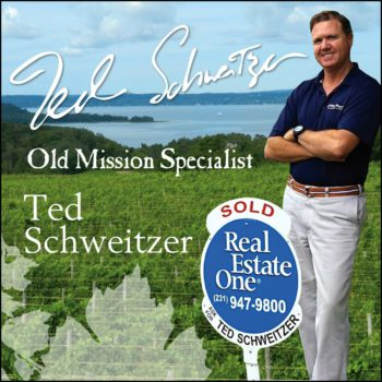 ted schweitzer, real estate one, old mission real estate, old mission peninsula, old mission, old mission michigan, michigan, old mission gazette