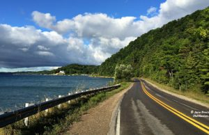 Bluff Road, road commission, roadwork, natural beauty road