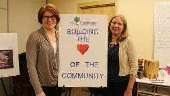 peninsula community library, heatherlyn johnson reamer, vicki shurly