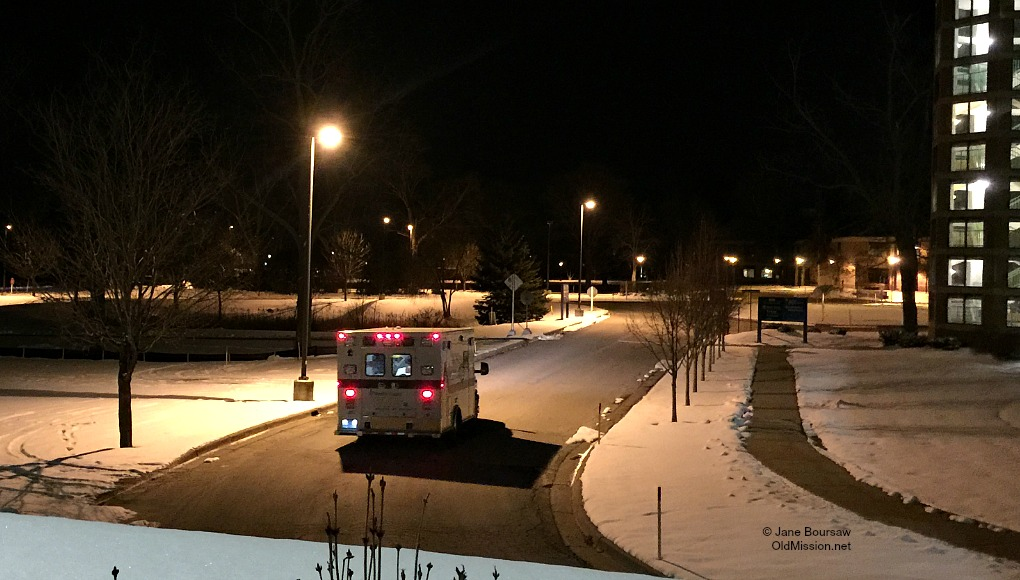 ambulance, university of michigan hospital, munson medical center, tim boursaw