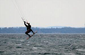 windsurfers, old mission harbor, haserot beach