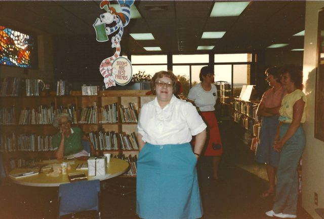 peninsula community library, marge arney