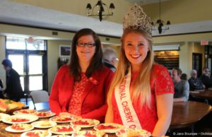 national cherry festival, abbey kaufman, national cherry queen, kat paye