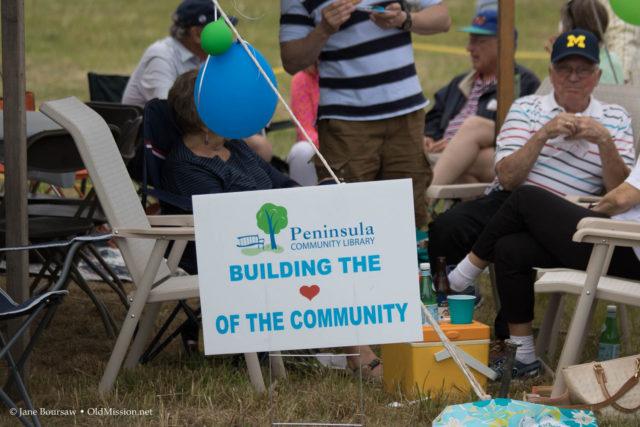 library, peninsula community library, old mission peninsula, heatherlyn reamer, jane arney, tim boursaw