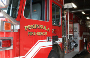fred gilstorff, peninsula township fire department, first responders, old mission peninsula