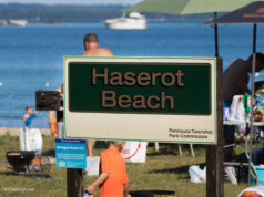 haserot beach, old mission peninsula, old mission michigan, traverse city, old mission, old mission beaches, boat launch