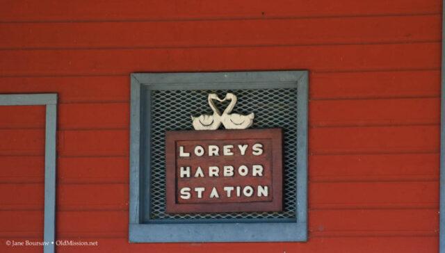lorey's harbor station, lorey kroupa, old mission peninsula