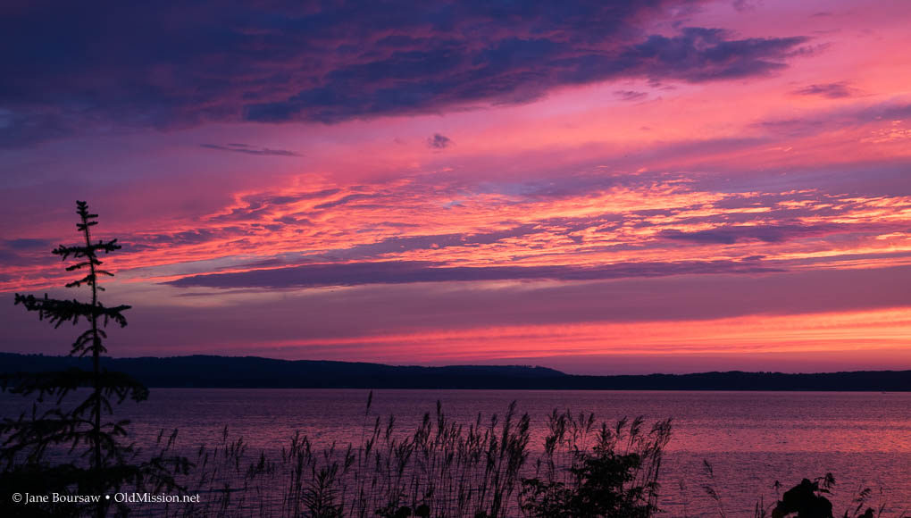 michigan, northwest michigan, west bay, west grand traverse bay, sunset, old mission peninsula, traverse city, old mission, old mission michigan, peninsula drive