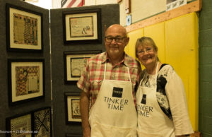rick burbee, mary kay burbee, old mission artists, old mission gazette, local artist's fair, art fair, old mission peninsula, old mission peninsula art fair, old mission michigan, old mission, traverse city, michigan, northwest michigan, old mission peninsula school, omps, old mission peninsula, tinker studio