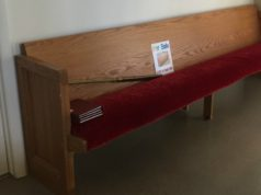 ompumc, church, church pew, for sale, old mission peninsula, old mission, old mission michigan, old mission gazette