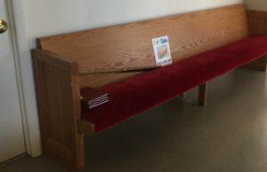 ompumc, church, church pew, for sale, old mission peninsula, old mission, old mission michigan, old mission gazette